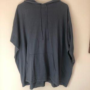 Loft Poncho Hoodie Sweater